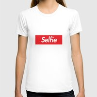 supreme T-shirts featuring Selfie Supreme by RexLambo