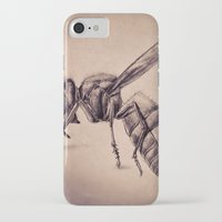 bee iPhone & iPod Cases featuring Bee by Werk of Art