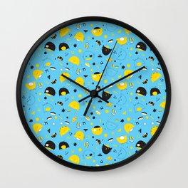Hannukats Blue Wall Clock