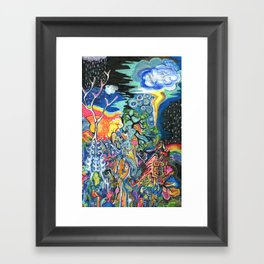 The Elements Framed Art Print