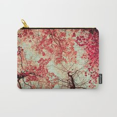 Autumn Inkblot Carry-All Pouch