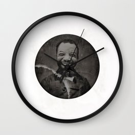 Baronial Indigene No. 2: Chuck Wall Clock