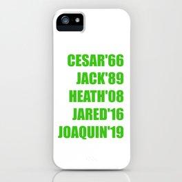 joker in movies iPhone Case