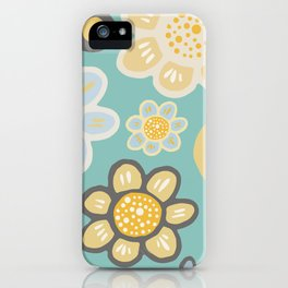 Big and Bold Modern Floral No. 5 iPhone Case