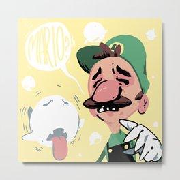 Luigi's Mansion Metal Print