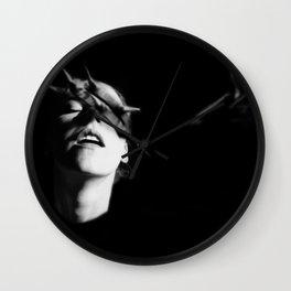 """""""warrior of hades"""" Wall Clock"""