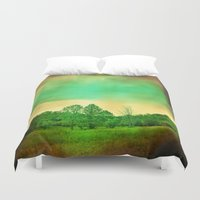 illusion Duvet Covers featuring Illusion by Yoshigirl