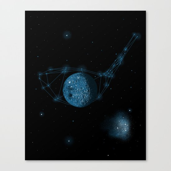 Game of God Canvas Print