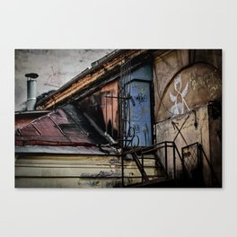 Where they live Canvas Print