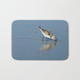 Reflective sandpiper Bath Mat