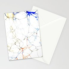 Marbled Blue Veins Stationery Cards