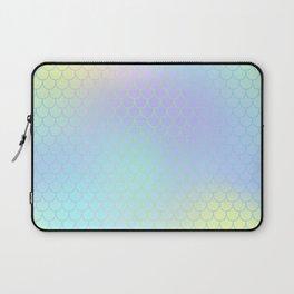Aqua Green Mermaid Tail Abstraction Laptop Sleeve