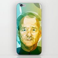 bill iPhone & iPod Skins featuring Bill by Tom Johnson