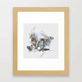 Louna Framed Art Print