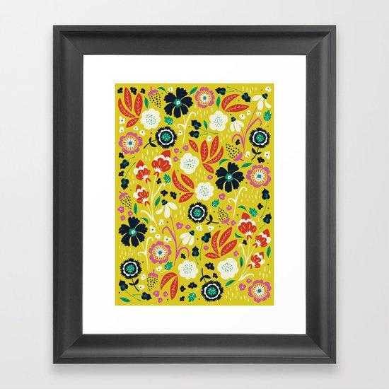 Flourishing Florals Framed Art Print