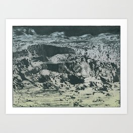 craterscape Art Print