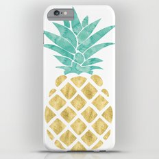 Gold Pineapple iPhone 6s Plus Slim Case