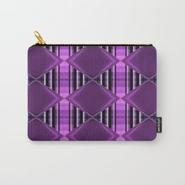 Pattern purple 2 Carry-All Pouch