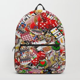 Gamblers Delight - Las Vegas Icons Backpack