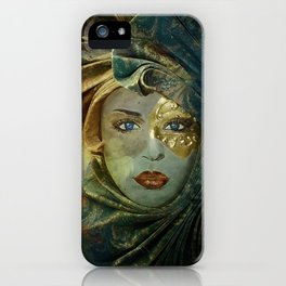 Masked iPhone Case
