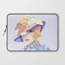 Ascot Girl Laptop Sleeve