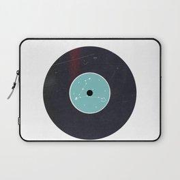 Vinyl Record Star Sign Art | Pisces Laptop Sleeve