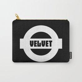 Velvet Carry-All Pouch