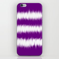 Purple Tie Dye iPhone & iPod Skin