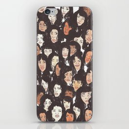 bunch of ladies iPhone Skin