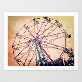 Memories... 2 Art Print