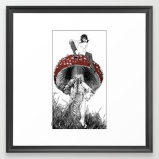 asc 422 - Les railleries (Taunting the Cat) Framed Art Print