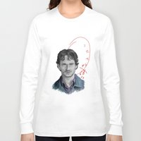 will graham Long Sleeve T-shirts featuring Hannibal - Will Graham by firatbilal