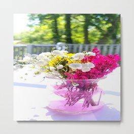 Wedding Flowers Metal Print