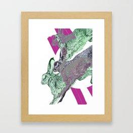 The Rabbits Framed Art Print