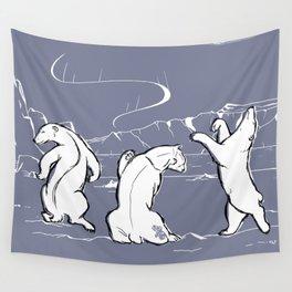 Dancing Nanuqs Wall Tapestry