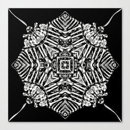 Bone Hypnosis Drawing Canvas Print