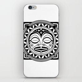 Sleeping God iPhone Skin