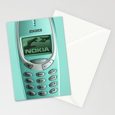 OLD NOKIA Cyan Stationery Cards