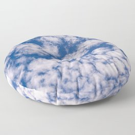 Cloud Pattern over Haines, Alaska by Mandy Ramsey Floor Pillow