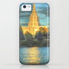 Mormon Temple II iPhone 5c Slim Case