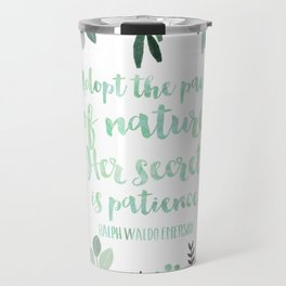 Emerson Quote Travel Mug