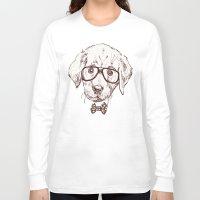 puppy Long Sleeve T-shirts featuring Puppy by Iriskana