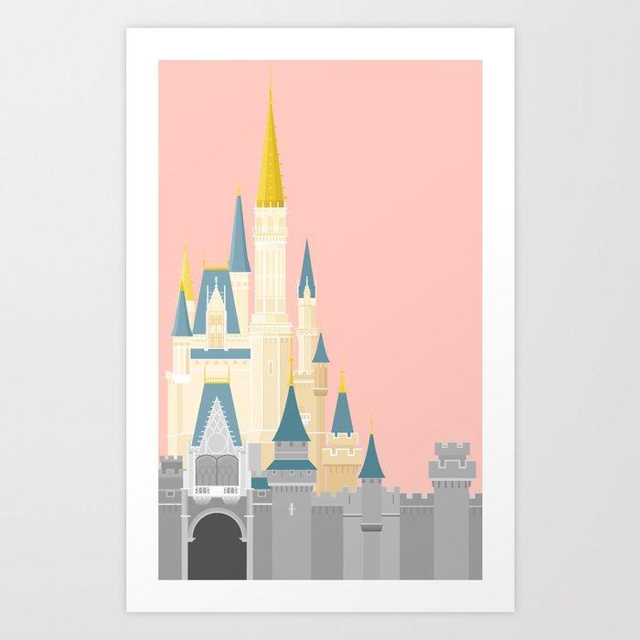 Cinderella Castle  Kunstdrucke