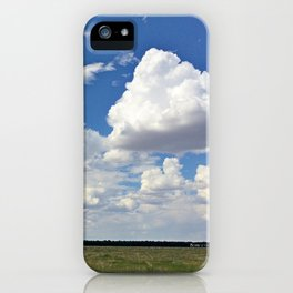 NEW MEXICO CLOUDS iPhone Case