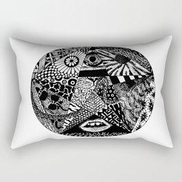 B&W Rectangular Pillow