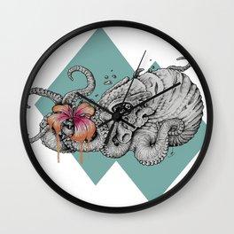 Flora Nautica Wall Clock