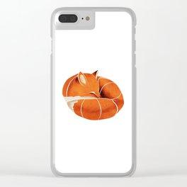 Fox 3 Clear iPhone Case