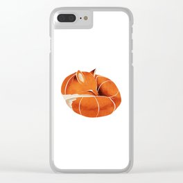Fox 3 Clear iPhone Case