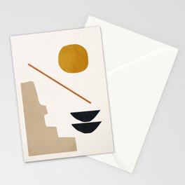 abstract minimal 6 Stationery Cards