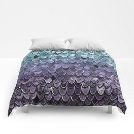 MAGIC MERMAID - MYSTIC TEAL-PURPLE Comforters